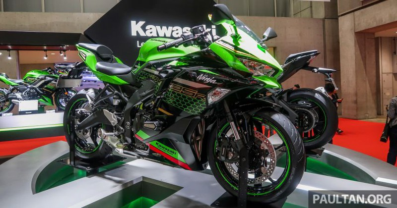 Kawasaki ZX-25R 2020 lộ diện với nhiều thay đổi ấn tượng