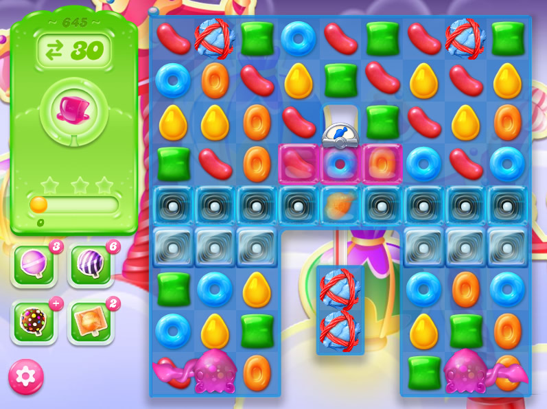 Candy Crush Jelly Saga level 645