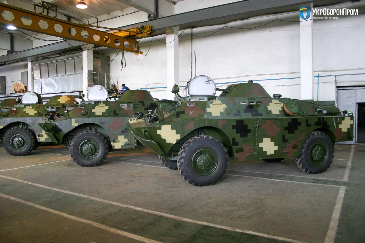 Укроборонпром передав ЗСУ вісім БРДМ-2Л1
