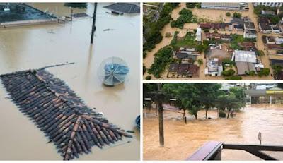 Chuvas já fizeram quatorze mortos em MG; 16 pessoas estão desaparecidas