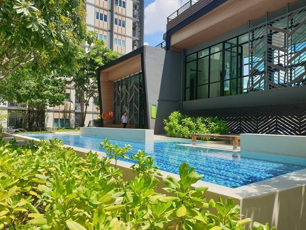 ให้เช่าคอนโด ไพรเวซี ลาดพร้าว เสนา (The Privacy Ladprao-sena) ชั้น 1 ตึก B ขนาด 23 ตร.ม.