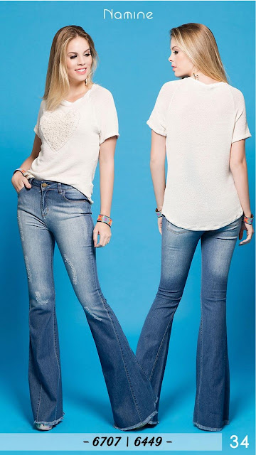 Atacadista de jeans flare