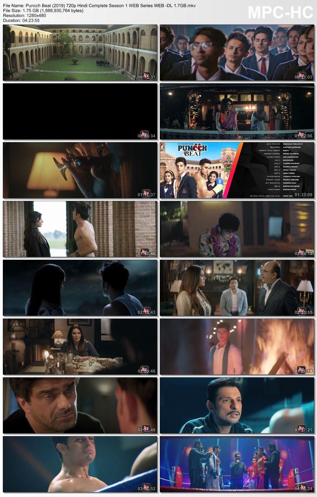 Puncch Beat (2019) 720p Hindi Complete Season 1 WEB Series WEB -DL 1.7GB Desirehub
