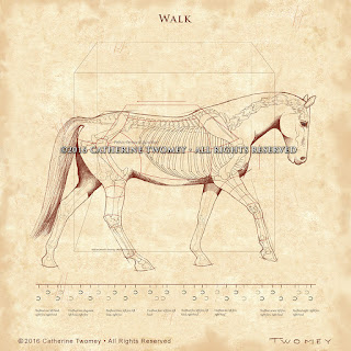 Equine print by Catherine Twomey