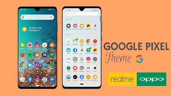 4 Fitur Keren Tema Google Pixel 4 Untuk Oppo dan Realme
