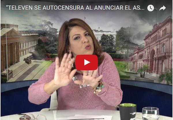 Patricia Poleo sobre autocensura en el caso Arnaldo Albornoz