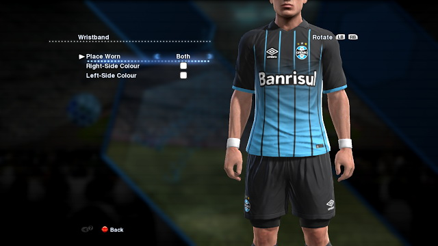 PES 2013 Grêmio 2016-17 Third Kit by RE-PA Kits