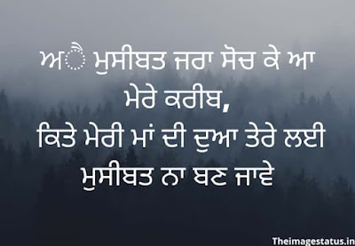 Punjabi Status On Life