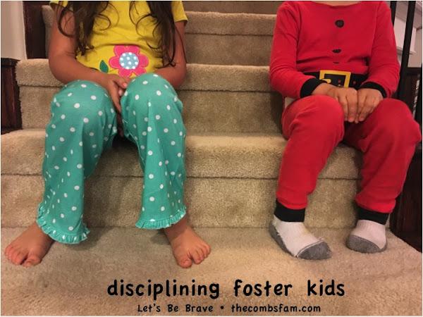 BFBN Week {Discipline}: Disciplining Foster Kids