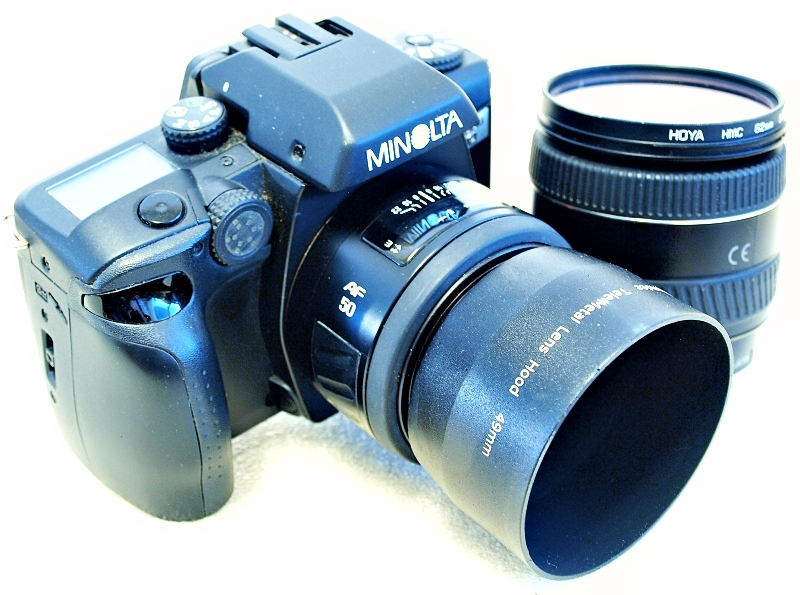Film Camera Review: Minolta Maxxum 70