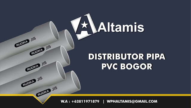 Distributor Jual Pipa PVC Bogor