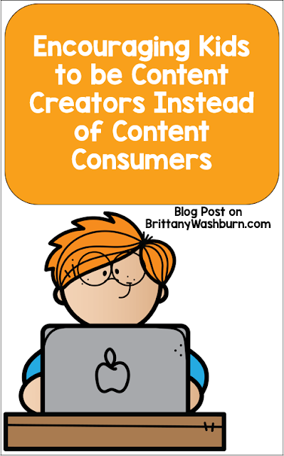 Kids are constantly consuming digital content. They are reading blogs, watching Youtube videos, and helping social media content go viral. But what if they were the ones creating this content? Teachers can encourage their students to be the ones creating valuable content.