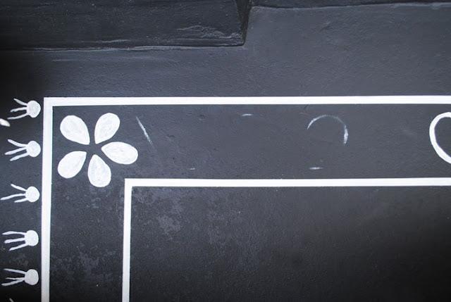 tapijt schilderen