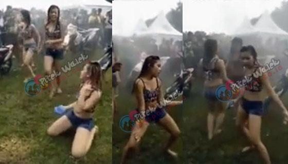 Heboh Video Hot, Goyang Erotis Gadis ABG Di Ajang Trail Adventure 2016