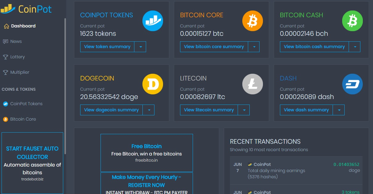 How Much Can You Make From Coinpot in One Year