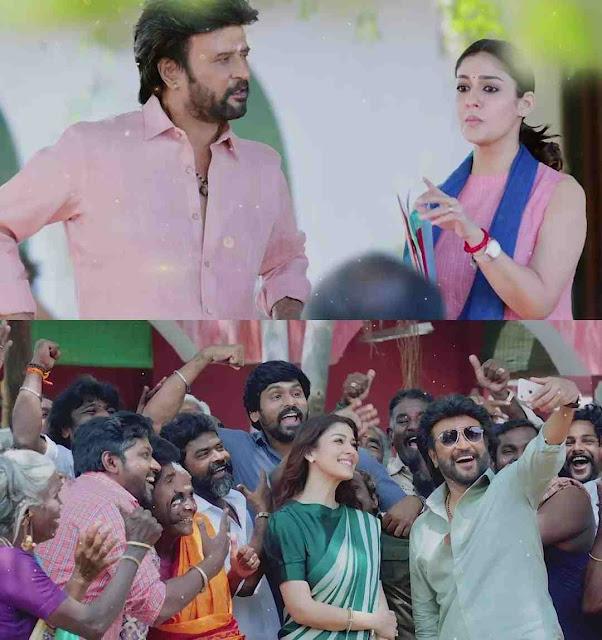 Annaatthe Movie Saara Kaattrae Second Song Snaps Featuring Super Star Rajinikanth Nayanthara