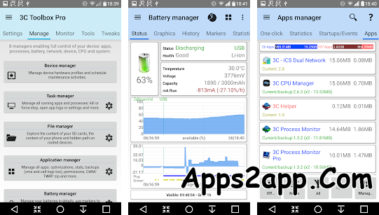3C All-in-One Toolbox APK v2.2.3n [Pro] [Mod] [Latest]
