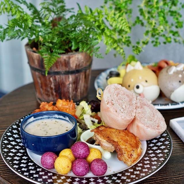 台南中西區美食【豆弄.手作】梅釀雞腿豆弄大早餐