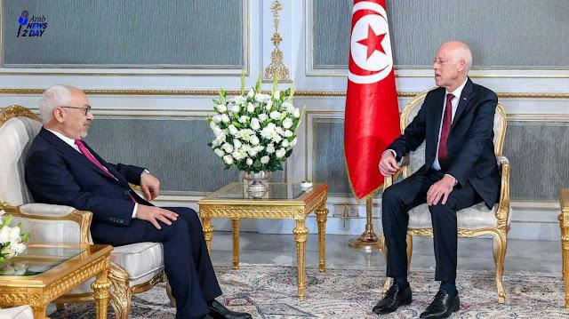 """الخلافات بين """"الغنوشي"""" والرئيس سعيد بدأت تأخذ مسارا تصاعديا"""