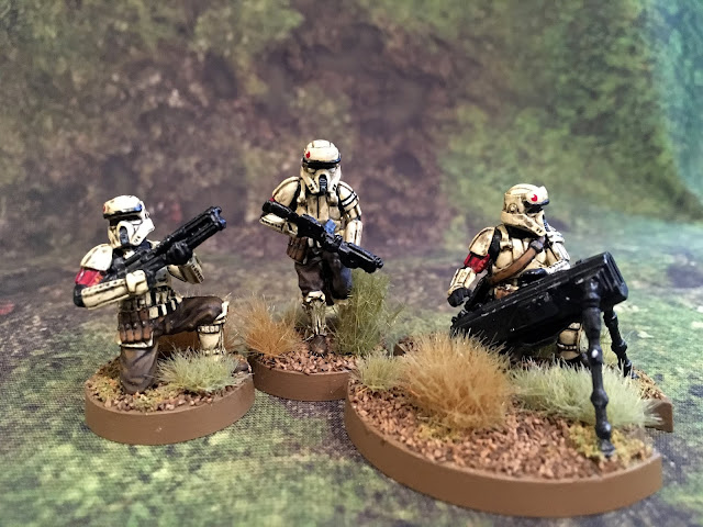 Star Wars Legion Shoretrooper Miniatures