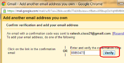 Add multiple Email address With in single Gmail Account