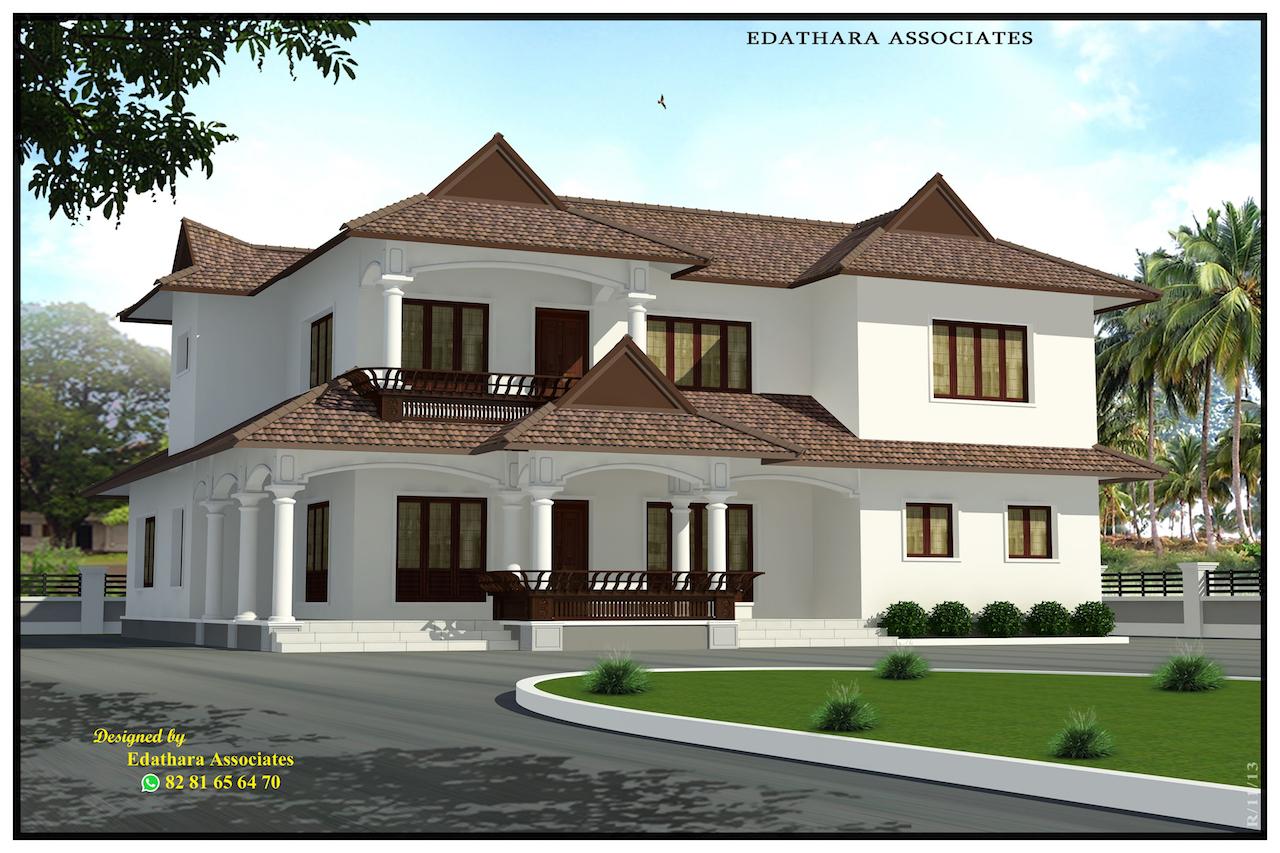 2722 Sq Ft Modern Double Floor Kerala Home