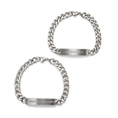 Men's Stainless Steel Child's Hero Bracelet $39.99