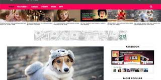 socio-viral-blogger-template