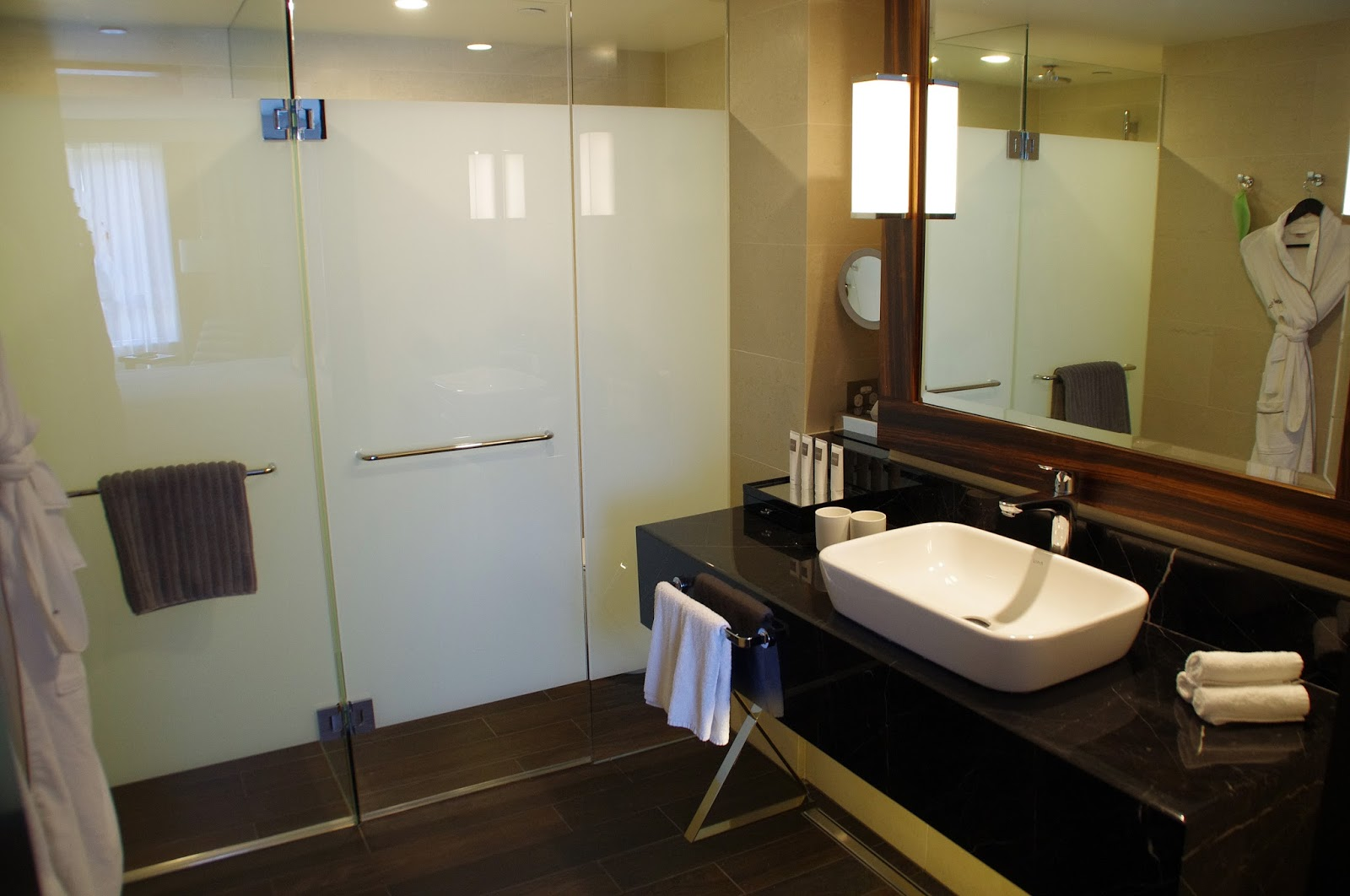 Bathroom at Swissotel in Sydney