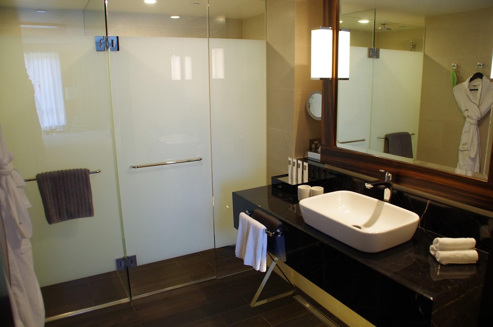 Bathroom at Swissotel in Sydney