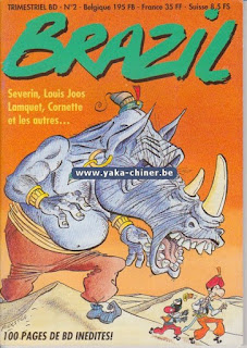 Revue de bande dessinée Brazil