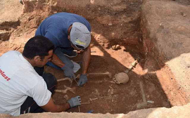 Tomb dating to 1st century BC found intact in Macedonia