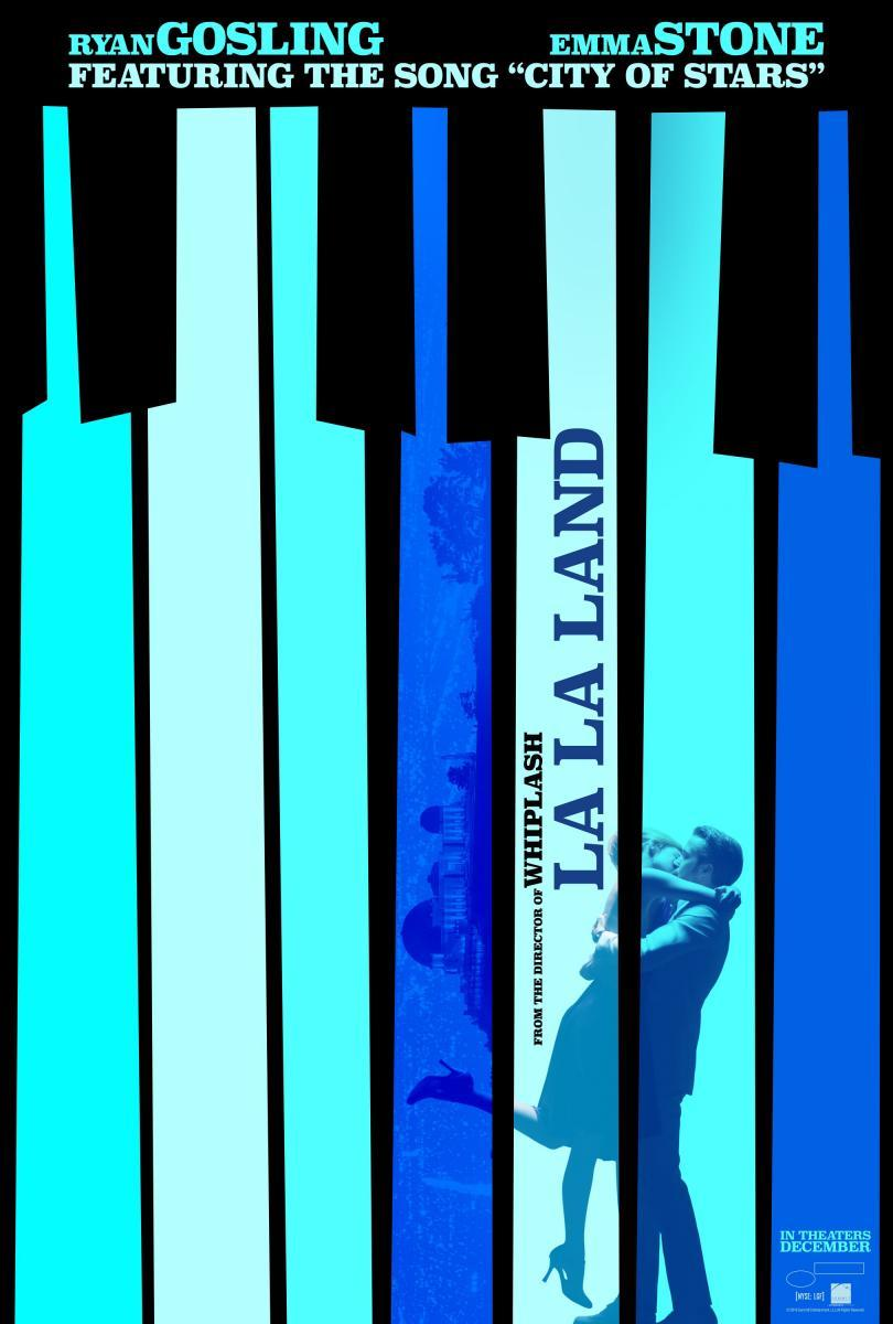 La La Land - película de Damien Chazelle - poster