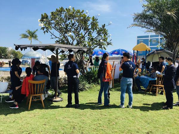 hình ảnh khách tham quan dự án Princess Villas Hồ Tràm
