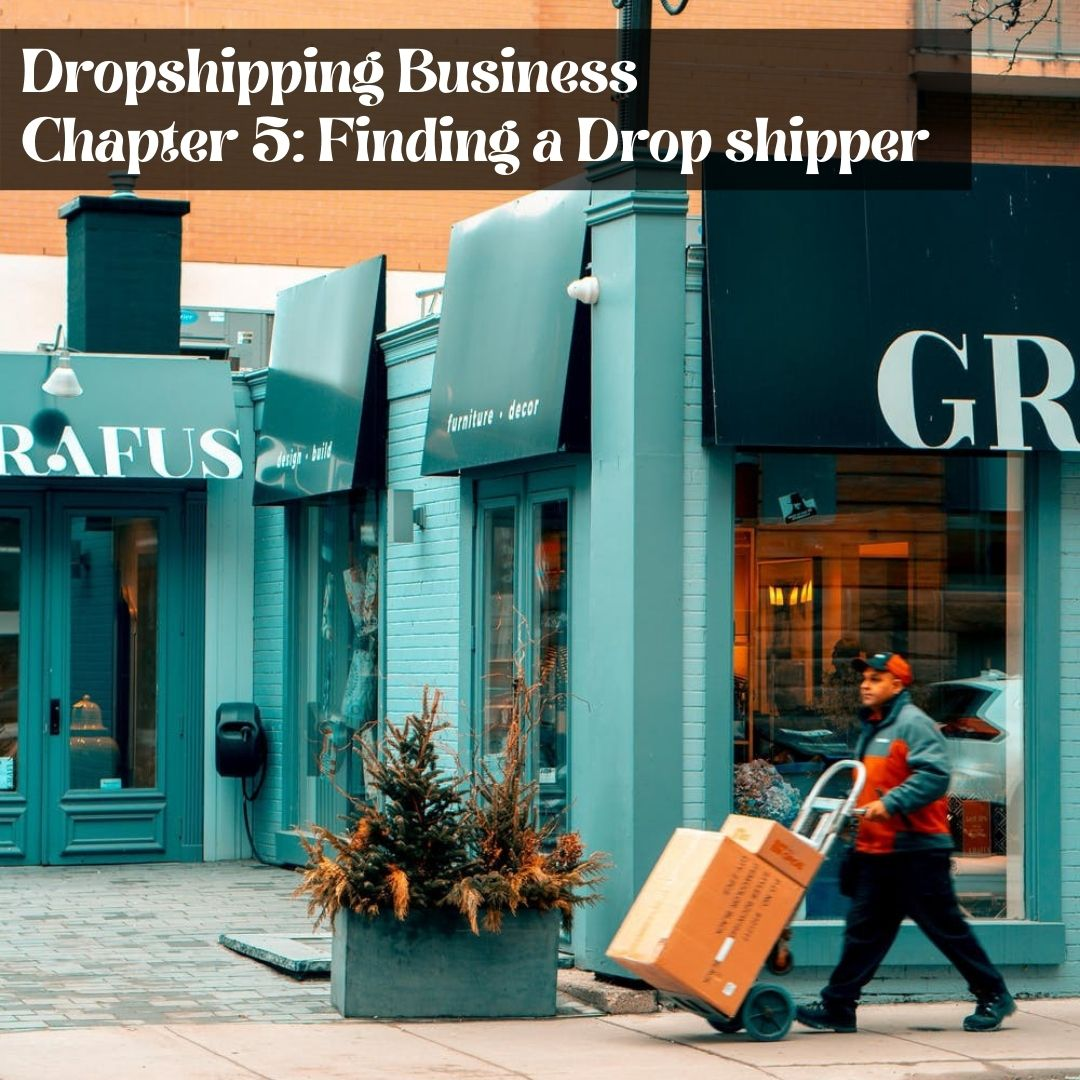 Chapter 5: Finding a Drop shipper - Prosper Affiliate Marketing