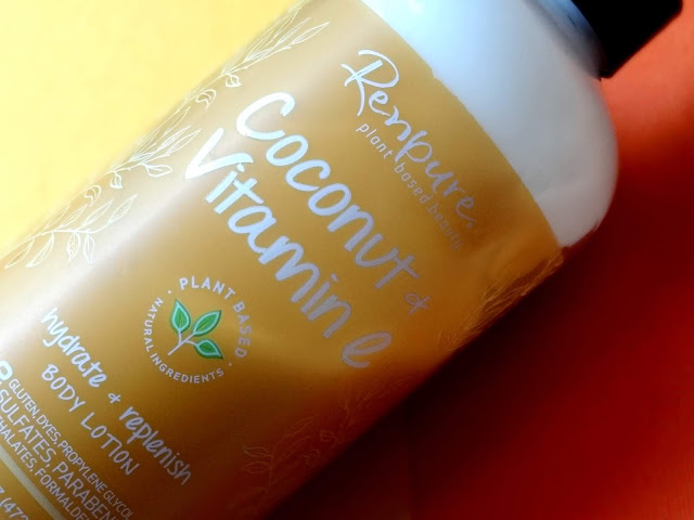 Renpure's Coconut + Vitamin E Body Lotion