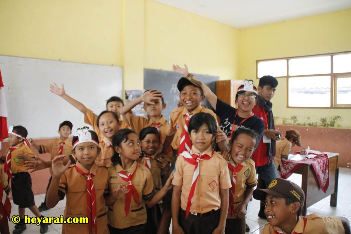 Suasana Kelas Inspirasi 5 Malang - 2017