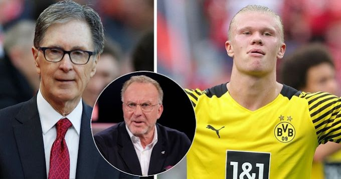 'Haaland's not going to Liverpool, I know the owner': Former Bayern CEO Rummenigge