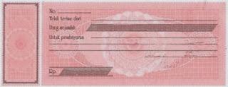 Contoh bukti transaksi keuangan kuitansi