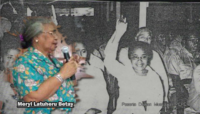 Saksi PEPERA, Mama Meryl Latuheru Betay: Ikut Saja yang Dorang Bilang