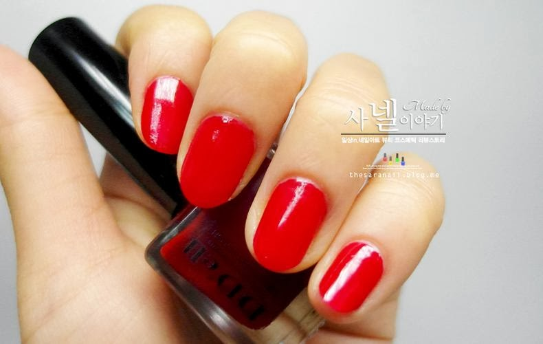 SARA NAIL: pretty red nail polish, Red nail design for