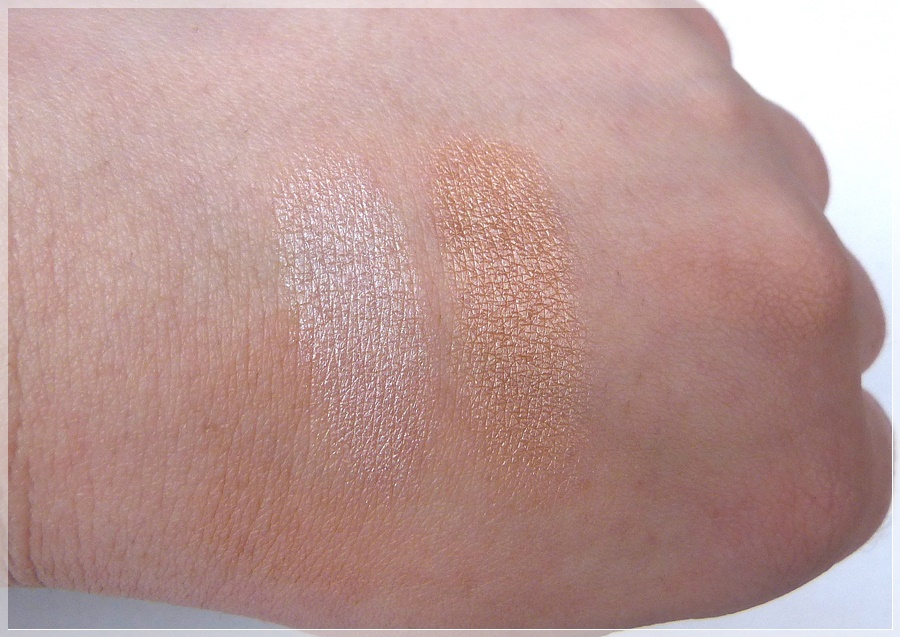 Swatches essence be my highlight CATRICE Light Infusion