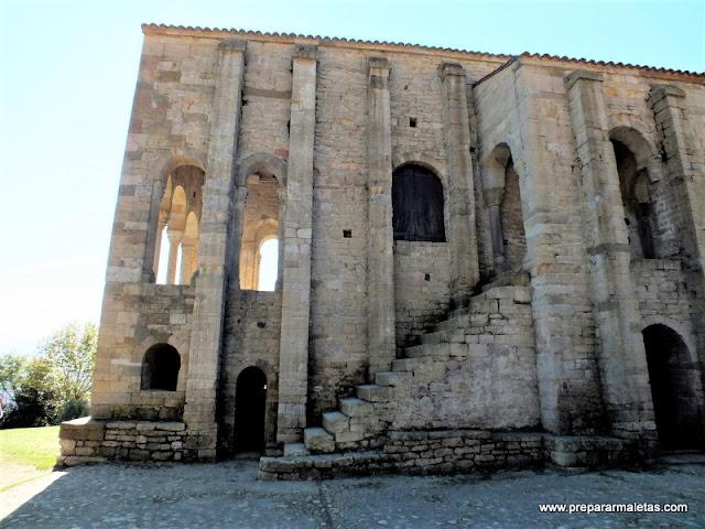 monumentos arte prerromanico Oviedo