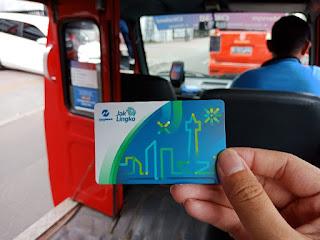 Kartu Jak Lingko Angkot Jakarta