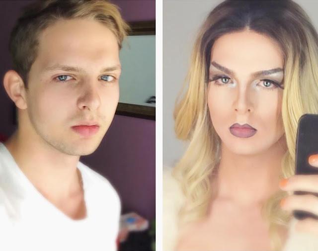 Boy To Drag Queen Transformation