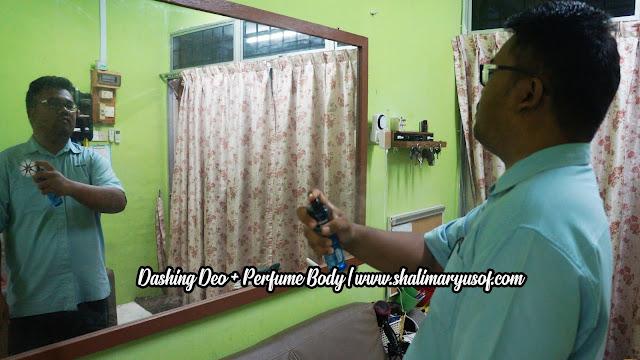 Gabungan Dashing Deo + Perfume Body Menjimatkan Dan Meyakinkan Penampilan Seorang Lelaki