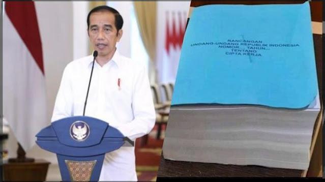 UU Ciptaker Salah Ketik usai Diteken Jokowi, DPR: Baru Pertama Kali Terjadi