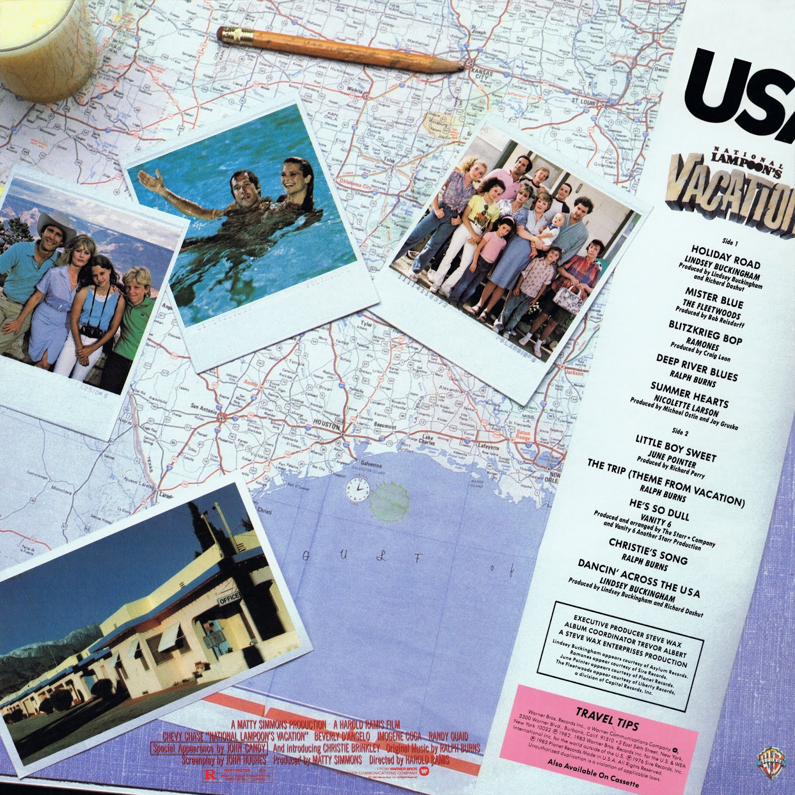 MUSIC REWIND: VA - National Lampoon's Vacation. Original ...