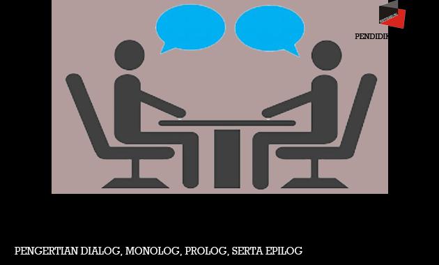 Pengertian Dialog, Monolog, Prolog, serta Epilog