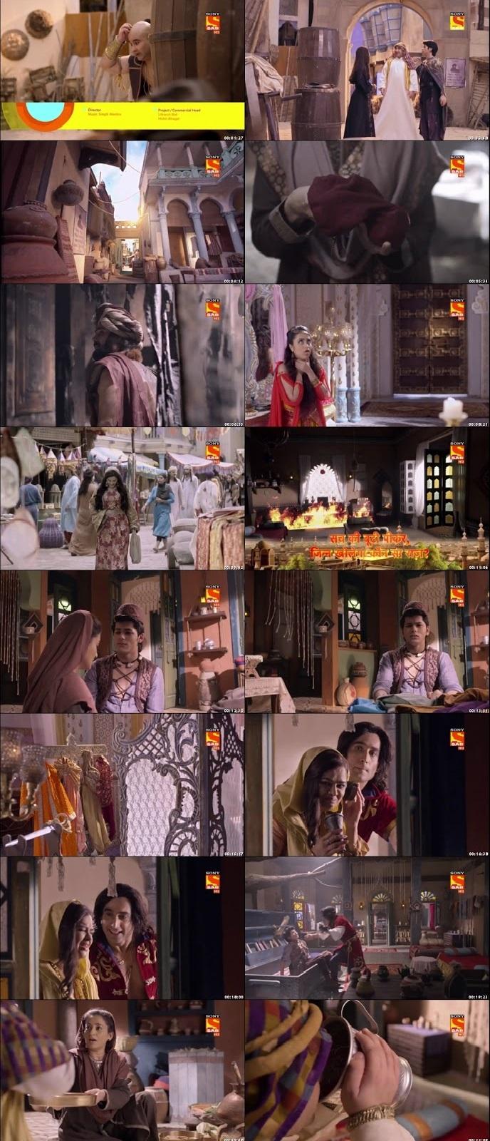 Screenshots Of Hindi Show Aladdin – Naam Toh Suna Hoga 2018 Episode 20 300MB 720P HD